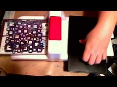 How to dry emboss with stencils by Paula - Journal Artista