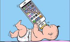 كاريكاتير : الجيل الجديد !!  في حدا بقول عكس هذا الكاريكاتير ؟ شو رأيكم ؟  #محجوبيات