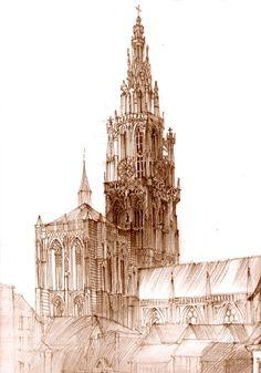 cathedral by takmaj.deviantart.com on @deviantART