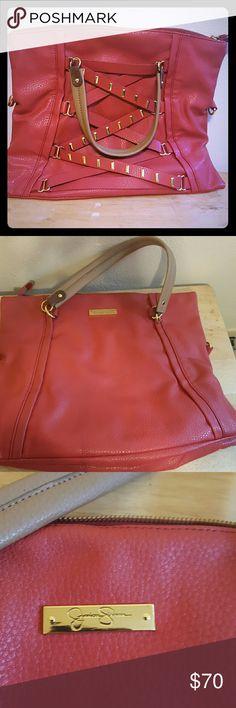 Very cute handbag everyone will want it Burnt orange Jessica Simpson handbag Jessica Simpson Bags Satchels