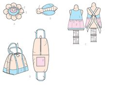 McCall's Sewing Pattern Mannequin, Purse, Flower and Bee-Shaped Pin Cushions Mccalls Sewing Patterns, Pin Cushions, Bee, Purses, Flower, Handbags, Honey Bees, Bees, Purse