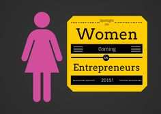 Is it me or have you also noticed the awareness of women entrepreneurs and small business owners increase over the past year? Due to that realization, I've decided to put a spotlight on these women in 2015!
