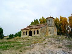 ERMITA DE SANTA CECILIA-Barriosuso ,Santibañez del Val-Burgos. mozarabe Santa Cecilia, Abandoned Churches, Romanesque, Spain Travel, Romans, Gardens, Mansions, House Styles, Cathedrals