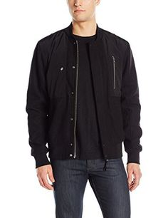 "William Rast benton bomber jacket with nylon front pockets.   	 		 			 				 					Famous Words of Inspiration...""Character is much easier kept than recovered.""					 				 				 					Thomas Paine 						— Click here for more from Thomas...  More details at https://jackets-lovers.bestselleroutlets.com/mens-jackets-coats/lightweight-jackets/varsity-jackets/product-review-for-william-rast-mens-benton-wool-jacket/"