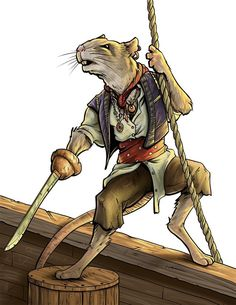 ratfolk - Google Search Reminds me of The Legend of Luke!