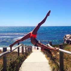 thick legged female gymnast  gymnastic girls with