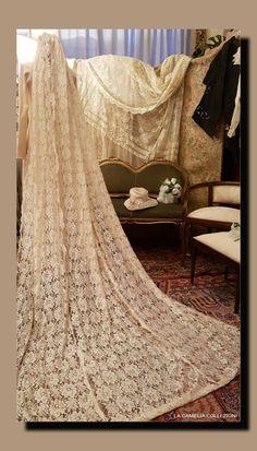 Veli da sposa lunghi 3 metri - la camelia