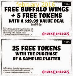 Chuck E Cheese Coupons Promo Coupons will expired on JUNE 2020 ! About Chuck E Cheese With Chuck E. Cheese coupons, you can have fun. Grocery Coupons, Online Coupons, Hobbies That Make Money, Ways To Save Money, Free Printable Coupons, Free Printables, Dollar General Couponing, Coupons For Boyfriend, Chuck E Cheese