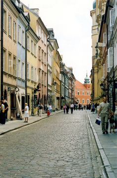 Walking up and down the streets in Warsaw,Poland was so fun and such a learning experience. The Places Youll Go, Cool Places To Visit, Places Ive Been, Places To Go, Germany Poland, Warsaw Poland, Visit Poland, Fun Walk, Lets Run Away