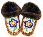How to make moccasins with beads and fur. This is a great tutorial. Provides a list of supplies ans cutting and sewing directions. Beaded Moccasins, Leather Moccasins, Moccasins Pattern, Baby Moccasin Pattern, Native Beadwork, Native American Beadwork, How To Make Moccasins, Native American Moccasins, Native American Crafts