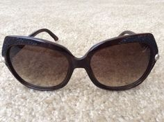 Swarovski SW 62 Delight Sunglasses Brown Frame/ Brown Lenses in Clothing, Shoes & Accessories, Unisex Clothing, Shoes & Accs, Unisex Accessories | eBay