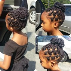 Beautifully Curled | Yarn Wrap Installment on Daughter's Natural Hair