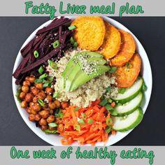 pinterest liver shrink diet menus