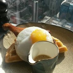 Duck and Waffle, served at Duck and Waffle, London
