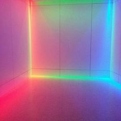 Glow Neon aesthatic beautiful cute room by izelmans Rainbow Aesthetic, Neon Aesthetic, Vaporwave, Palette Pastel, Deco Led, Instalation Art, Deco Design, Neon Lighting, Light Art