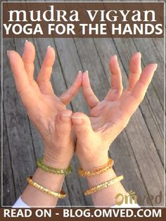 MUDRA THERAPY or as it is fondly called - HAND YOGA - Yogic and Tantric sciences refer to the Sanskrit meaning of the word – (a 'closure' or 'seal') and use it to name the methodical hand gestures made to open, release or redirect the flow of internal ene Hand Mudras, Healing Hands, Qigong, Pranayama, Reflexology, Holistic Healing, Yoga Meditation, Ayurveda, Yoga Poses