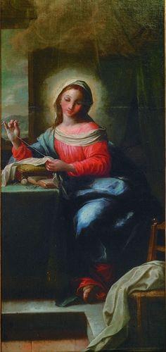 Mary Sowing, Johann Michael Rottmayr (1712).