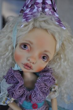 MYSTERY by Nefer Kane with face-up and clothing by Sally of Lilygami Designs