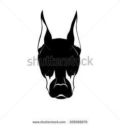 Doberman Stock Photos, Illustrations, and Vector Art Doberman Tattoo, Doberman Dogs, Pinky Tattoo, Silhouette Tattoos, Adobe Illustrator Tutorials, Dog Logo, Cricut Design, Vector Art, Stock Photos