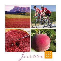 Affiche rouge Drôme Drome http://www.flickr.com/photos/ladrometourisme/sets/72157633923085466/