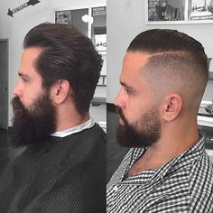 @thebrianfuller couldn't hack growing out his hair which would have been awesome but since he sucks we hacked it off.  #handcraftedbarbershop #chicago #chicagobarber #chicagobarbershop #baldfade #skinfade #fade #beard #hardpart menshair #menshaircut #mensstyle #mensgrooming #imperialbarberproducts #barbershop #barber #thebarberpost #yourbarberconnect #barbershopconnect #barberlife by barbergreg