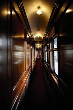 The Orient Express?  A lovely way to travel.