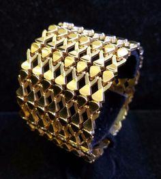 Stunning 18k Rose Gold Vintage Retro 1930s Ribbon Bracelet 53.5gram Rare Jewelry | Jewelry & Watches, Fine Jewelry, Fine Bracelets | eBay!