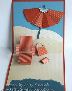 Peekaboo Frame Pop-up Beach Chair Tutorial