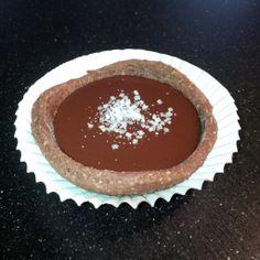 1 Persoons-taartje met vloeibare chocolade