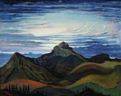 Sunset in the Pyrenees - James Dickson Innes - The Athenaeum
