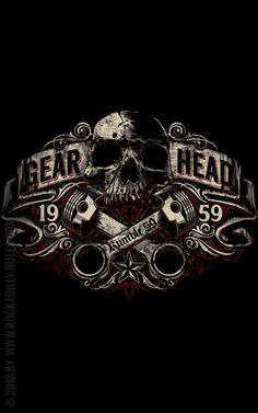 Gear Head - That's life: Motor, Getriebe, Kolben, Drehzahl /// Design: Jan Meininghaus
