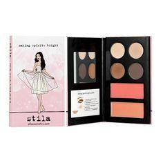 Stila - Making Spirits Bright Palette - sombras, blush e bronzer R$60.00