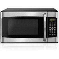 New Hamilton Beach CU FT Microwave Oven Kitchen College Dorm Garage Workshop