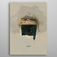 Jim Clark's Helmet by Abraham Szomor | metal posters - Displate
