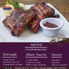 Inicia tú semana disfrutando la gastronomía en Angus Brangus Parrilla Bar  y el menú  Medellin Gourmet , que incluye: copa de vino + entrada + plato fuerte + postre, por sólo $65.000 pesos.     www.angusbrangus.com.co  Reservas: 2321632 .  Cra. 42 # 34 - 15 / Vía las Palmas    #medellingourmet #medellin #restaurantesmedellin #quehacerenmedellin #dondecomermedellin #medellingourmet2016 #camaralucidafood #medellinsisabe #medellinrestaurants #medellineats #medellincity #medellintown #restaura