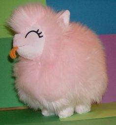 My Little Pony FLUFFLE PUFF Happy fan art plush by AmysPlushies, $80.00