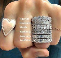 Cushion Cut Engagement Ring, Dream Engagement Rings, Halo Engagement, Tiffany Engagement, Wedding And Engagement Rings, Emerald Cut Engagement Rings, Stacked Engagement Ring, Emerald Rings, Morganite Engagement