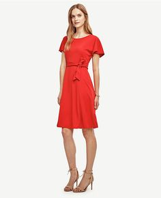 Thumbnail Image of Primary Image of Belted Flare Dress