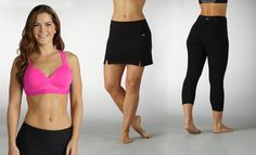 I bought the bermudas! Groupon - Marika Magic Tummy-Control Pants, Leggings, and Sports Bras with Water Bottle (Up to 79% Off). Free Shipping.. Groupon deal price: $17.99