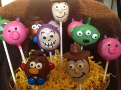 Toy Story Cakepops
