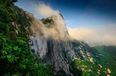 Air pollution is slowing valley breezes and diminishing surface moisture in the air surrounding China's Mount Hua, thus reducing precipitation.