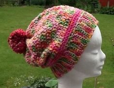 This soft and silky crochet beret will add a touch of chic to any outfit on cold autumn day. Crochet Beret, Knitted Hats, Bob, Cotton Beanie, Winter Hats For Women, Hand Dyed Yarn, Knitting, Stylish, Pink Purple