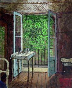 Hermanus 'Herman' Berserik (Dutch, 1921-2002) - Hotel Room in Avignon (2001)