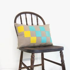 Geometric outdoor pillow cover  Colorful  by ClassicByNature, Etsy