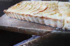 Tarta cu Mere si Crema de Vanilie (fara zahar, fara unt, fara faina alba, 100% sanatoasa) – Dulciurile nu îngrașă Unt, Bread, Pie, Brot, Baking, Breads, Buns