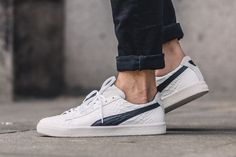 Puma Clyde Goes Luxe With MII (Made in Italy) Edition - EU Kicks: Sneaker…