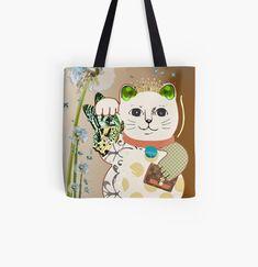 Large Bags, Small Bags, Cotton Tote Bags, Reusable Tote Bags, Maneki Neko, Fashion Room, Medium Bags, Vintage Designs, My Arts