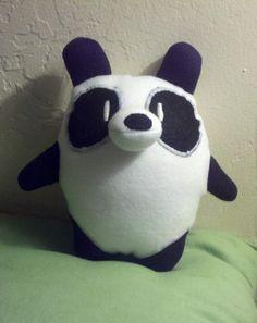 Handmade Baby Panda Bear Plush. $20.00, via Etsy.