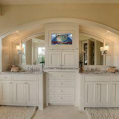 1000 Images About Vanity Built In On Pinterest Master Bath Vanity Double Vanity And Vanities