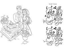 DIY Livret de coloriage mariage